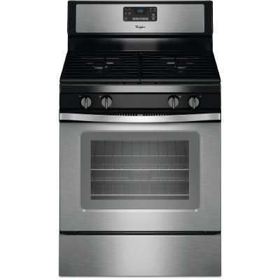 WFG515S0ES Whirlpool Gas Range - 5.0 cu. ft. Stainless Steel