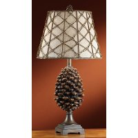 Pine Bluff Resin Table Lamp