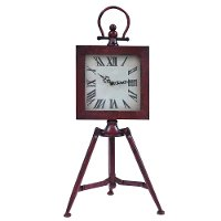 Standing Time Table Clock