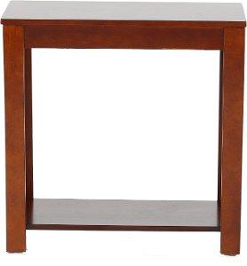Crown Mark Pierce Espresso Brown Small Side Table