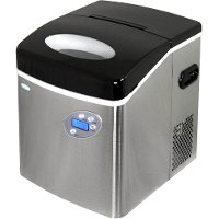 AI-215SS AI-215SS Stainless Steel Portable Ice Maker