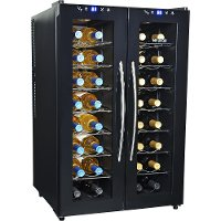 AW-320ED AW-320ED Dual Zone Thermoelectric Wine Cooler