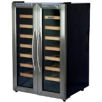 AW-321ED AW-321ED 32 Bottle Dual Zone Thermoelectric Wine Cooler