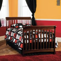 F0648485 Cherry Twin Bed Rails - Ashton