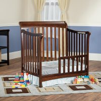 F0971485 Cherry Toddler Guard Rail for Mini Crib - Ashton