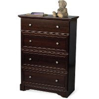 F0130285 Cherry 4-Drawer Chest  - Updated Classic