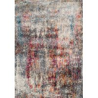 8 x 11 Large Transitional Multicolored Area Rug - Rossini