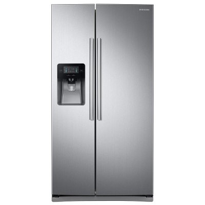 RS25J500DSR Samsung 24.5 cu. ft. Side-by-Side Refrigerator - 36 Inch Stainless Steel