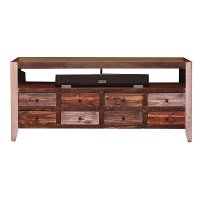 61 Inch Rustic TV Stand - Antique Collection