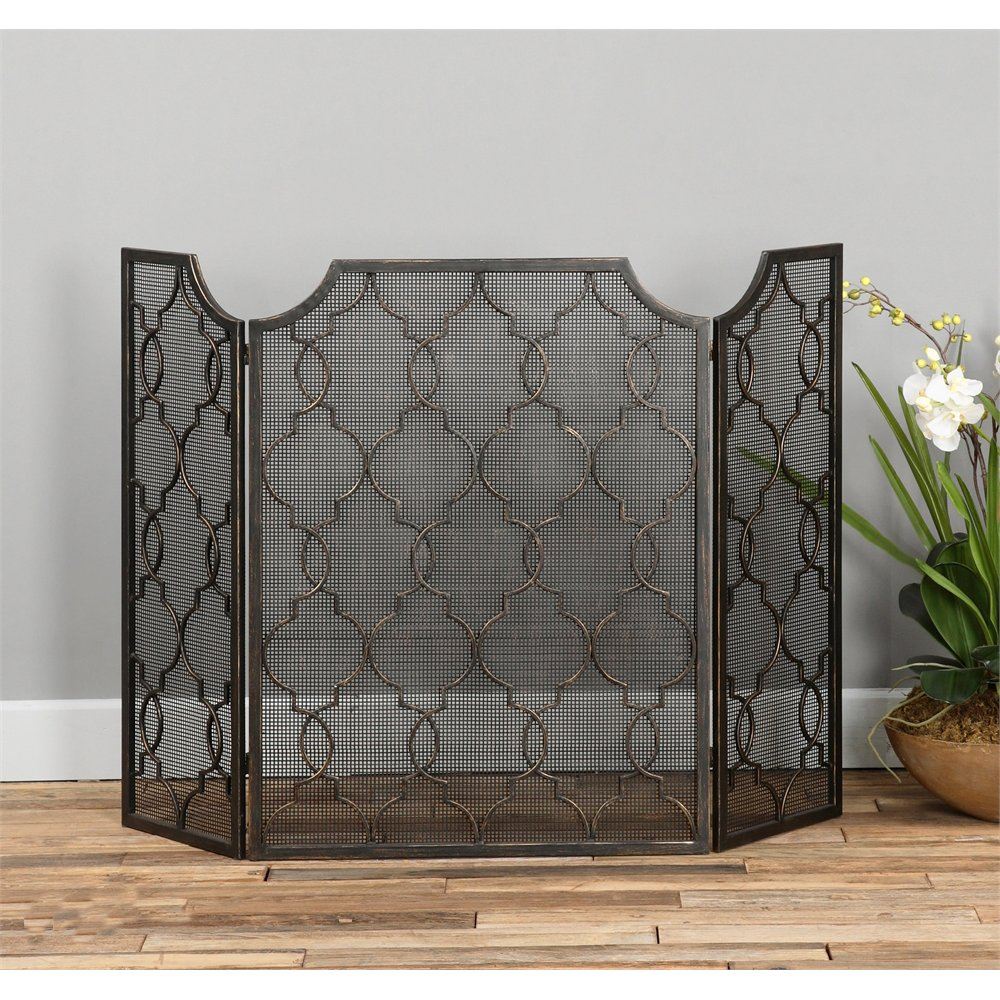 RC Willey sells fireplace screens and room dividers. These have nothing in common but are worth looking at.