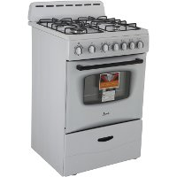 GR2414CW Avanti 24 Inch 2.6 Cu. Ft. Slide-in Gas Range - White