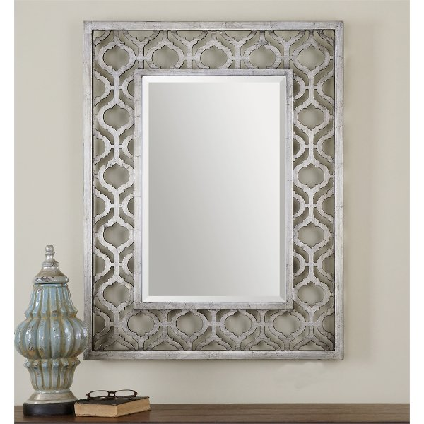 gray wall mirror white silver leaf wall mirror shop wall mirrors and floor rc willey furniture store