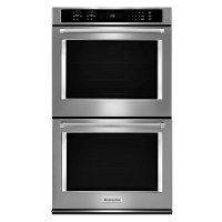 KODE500ESS KitchenAid 30 Inch Double Wall Oven with Convection - 10 cu. ft. Stainless Steel