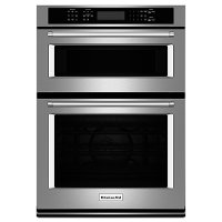 KOCE507ESS KitchenAid Combination Wall Oven with Even-Heat True Convection and Built-in Microwave - Stainless Steel
