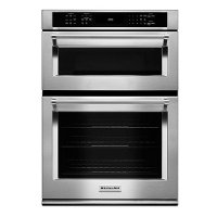 KOCE500ESS KitchenAid Combination Double Wall Oven with Microwave - Stainless Steel