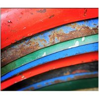 Multi-Color Fenders Canvas Wall Art