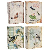 Assorted Bird Book Boxes