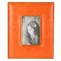 8 Inch Orange Picture Frame
