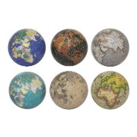 Assorted 4 Inch Colorful Globes