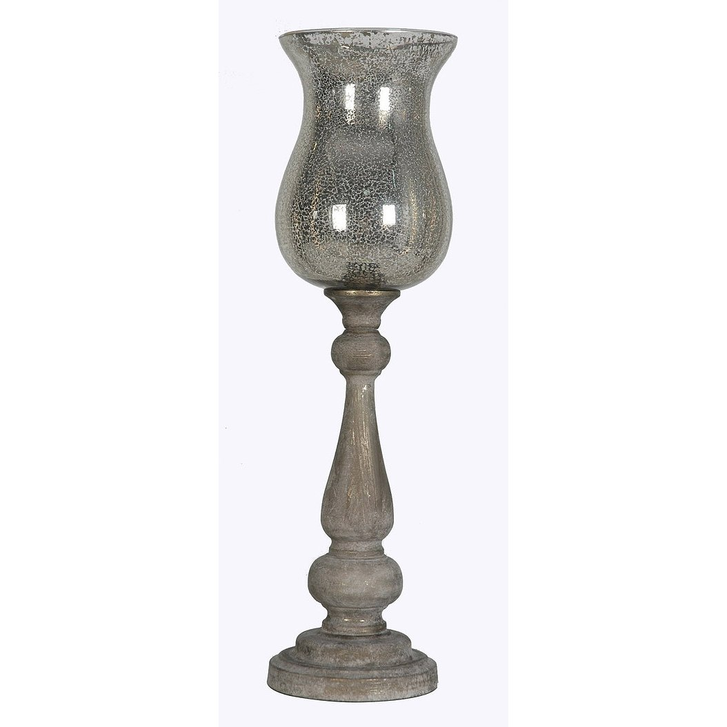 Shop lamps and lighting page 2 rc willey furniture store antique white wash wood finish up light lamp with mercury glass shade aloadofball Choice Image