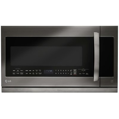LMHM2237BD LG Over the Range Microwave - 2.2 cu. ft. Black Stainless Steel