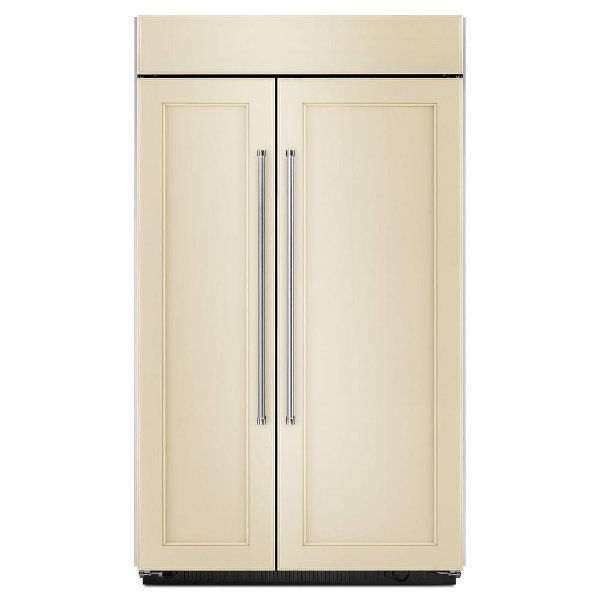 Kbsn602epa Kitchenaid Built In Side By Refrigerator 42 Inch Panel Ready