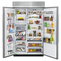 ... KBSN608EPA KitchenAid Built In Side By Side Refrigerator   48 Inch Panel  Ready 3 ...