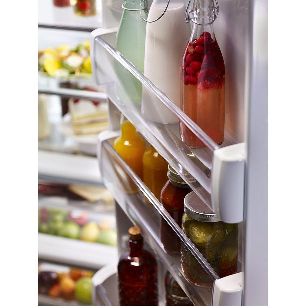 KitchenAid Stainless Steel Built In Side By Side Refrigerator   36 Inch |  RC Willey Furniture Store