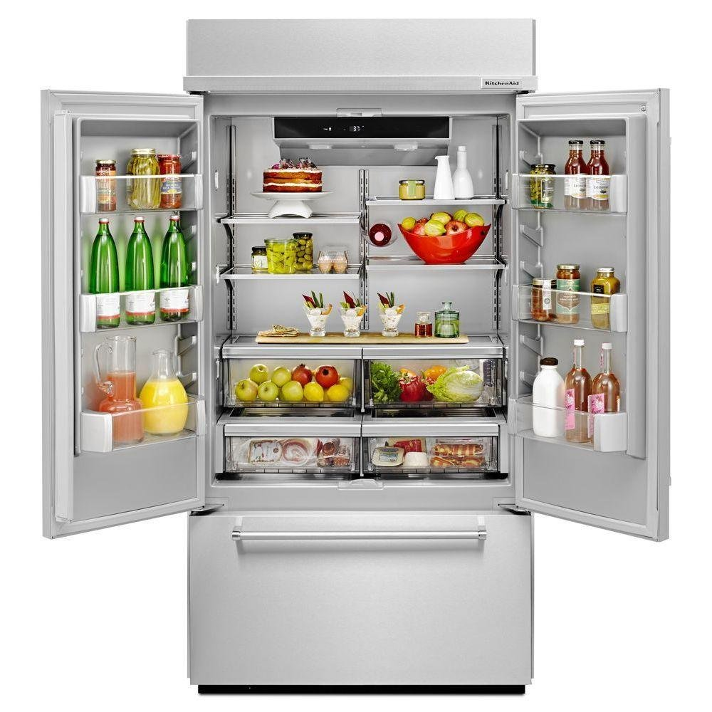 Kitchenaid Built In French Door Refrigerator 42 Inch Panel Ready