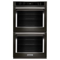KODE500EBS KitchenAid 30 Inch Double Wall Oven with Convection - 10 cu. ft. Black Stainless Steel