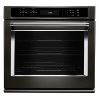 KOSE500EBS KitchenAid 30 Inch Single Wall Oven with Convection - 5.0 cu.ft. Black Stainless Steel