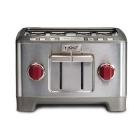 WGTR104S-SS-INDC Wolf Gourmet Stainless Steel 4-Slice Toaster