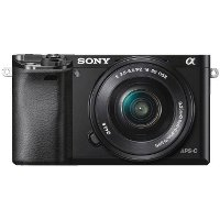 ILCE-6000L-B Sony a6000 Mirrorless Interchangeable-lens Digital Camera w/ 16-50mm Lens