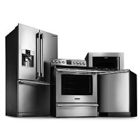 FRG-PRO-24-ELE-KIT Frigidaire 4 Piece Kitchen Appliance Package with Electric Range 6.1 cu. ft. Oven - Stainless Steel