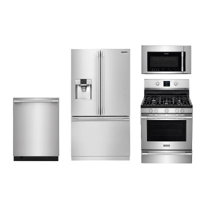 Frigidaire Professional Series Stainless Steel Gas Kitchen Appliance  Package | RC Willey Furniture Store
