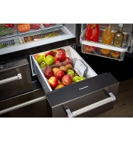 kitchenaid 5 door 30 inch krmf706ebs kitchenaid 5door refrigerator 36 inch black stainless steel6 steel rc