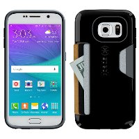 Speck CandyShell Card Case for Samsung Galaxy S6  - Black