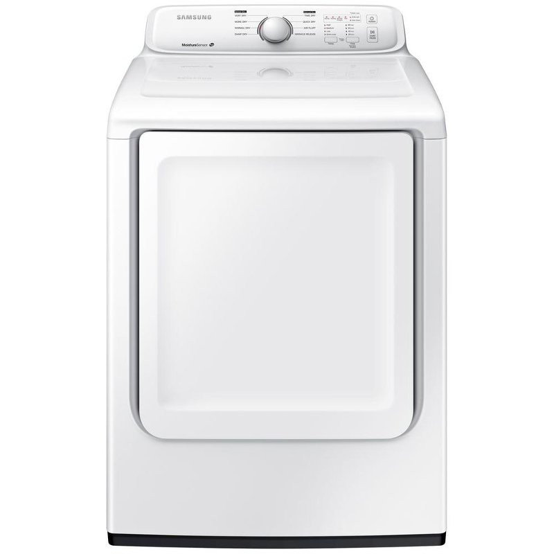 Samsung Electric Dryer - 7.2 cu. ft. White