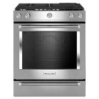 KSGB900ESS KitchenAid 30 Inch Gas Range - Stainless Steel
