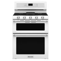 KFGD500EWH KitchenAid 30 Inch 6.0 Cu. Ft. Gas Range - White