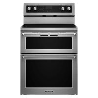 KFED500ESS KitchenAid Double Oven Electric Range - 6.7 cu. ft. Stainless Steel