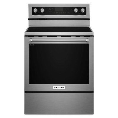 KFEG500ESS KitchenAid Electric Range with Even-Heat True Convection - 6.4 cu. ft. Stainless Steel