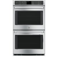 CT9550SHSS GE Cafe Double Convection Wall Oven - 10 cu. ft. Stainless Steel