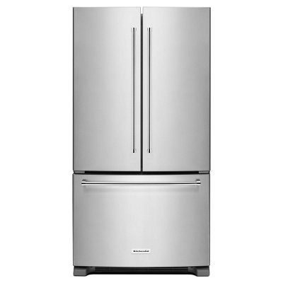 KRFC300ESS KitchenAid French Door Refrigerator - 36 Inch Stainless Steel Counter Depth