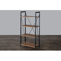 AA-SJI Modern 4-Shelf Bookshelf - New Semester