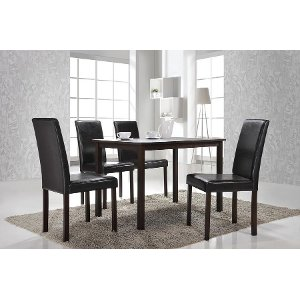 ... Dining Table   Urban Andrew Dark Brown ...