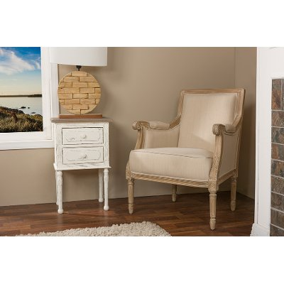 ASS500Mi CG4 Traditional French Accent Chair   Chavanon Free Shipping