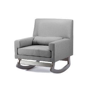 modern gray rocking chair free shipping