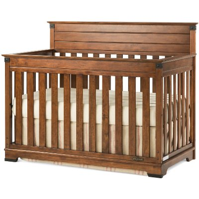 F3280106 Redmond Child Craft Coach Cherry Convertible 4 In 1 Crib