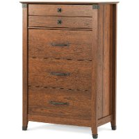 F0280206 Redmond Child Craft Coach Cherry 4-Drawer Chest